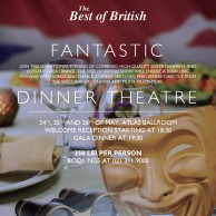 NRCC MEMBER INCENTIVE - The Fantastic Dinner Theater, 24-26 May, Radisson Blu Hotel