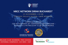 NRCC NETWORK DRINK BUCHAREST NOVEMBER 2019