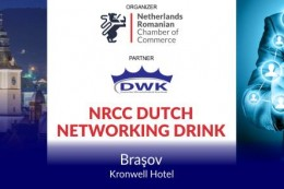 NRCC-DWK Networking Drink in Brasov - April 2018