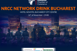 NRCC NETWORK DRINK BUCHAREST DECEMBER 2019