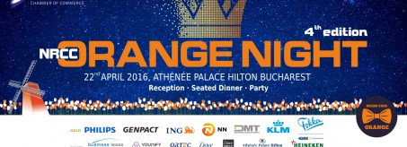 NRCC Orange Night 2016 – meet, eat & party with the Dutch!