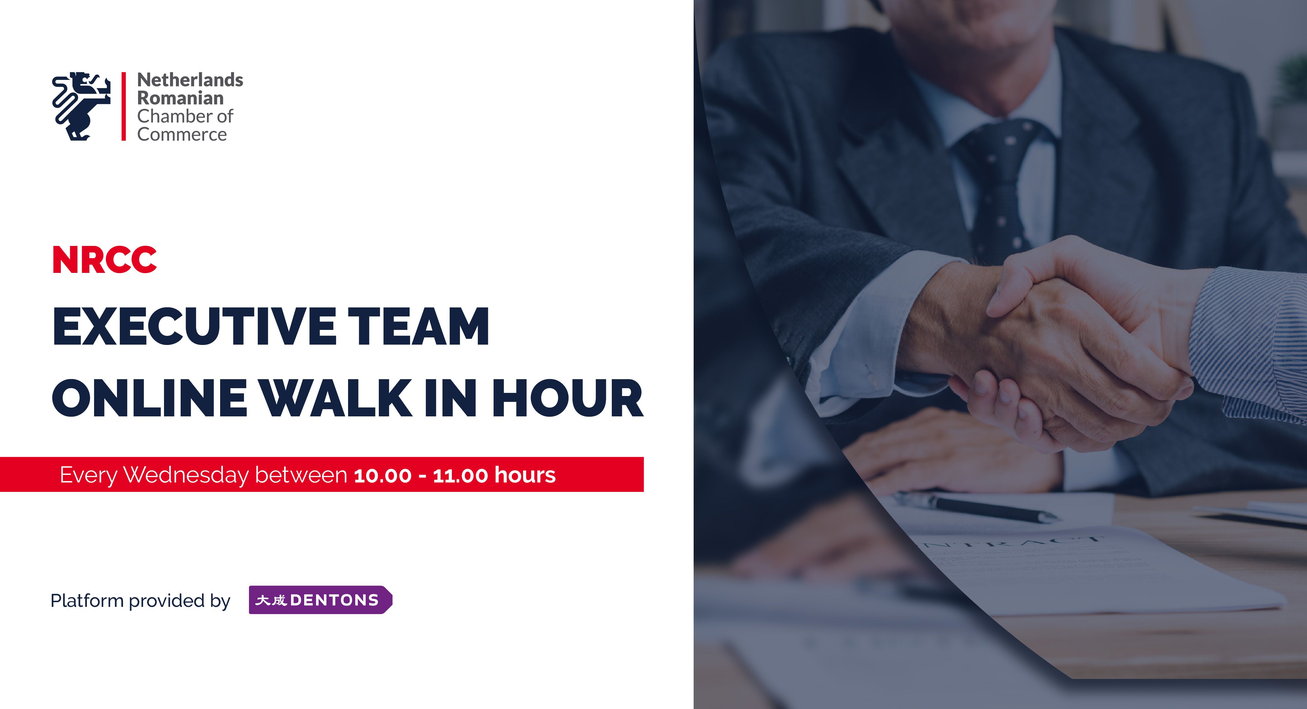NRCC EXECUTIVE TEAM ONLINE WALK IN HOUR 24 FEB