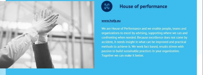 Interview with Maarten Holland, Consultant, House of Performance