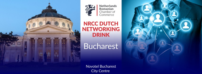 NRCC Dutch Networking Drink in Bucharest - October