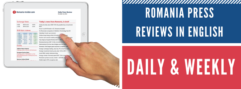 NRCC MEMBER INCENTIVE - 25% yearly subscription at Romania Press Review