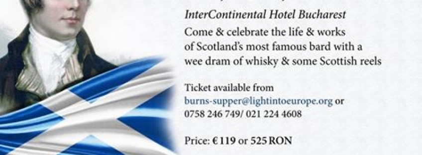 Burns Supper - 21st January 2017