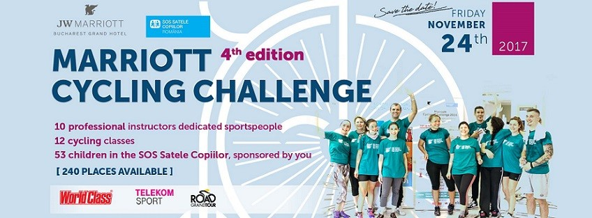 Join the 4th edition of Marriott Cycling Challenge!