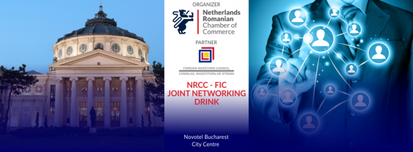 NRCC Dutch Networking Drink in Bucharest with FIC