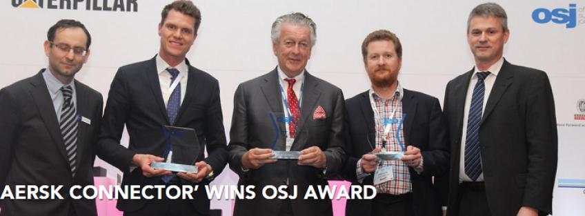 Maersk Connector' wins OSJ Award