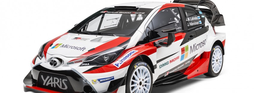 New Yaris WRC: TOYOTA GAZOO Racing set for Monte magic
