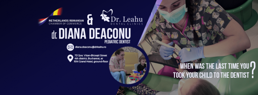 NRCC - Dr. Leahu Dental Clinics - campaign Oral Health from childhood