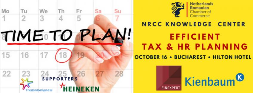 Efficient Tax & HR planning