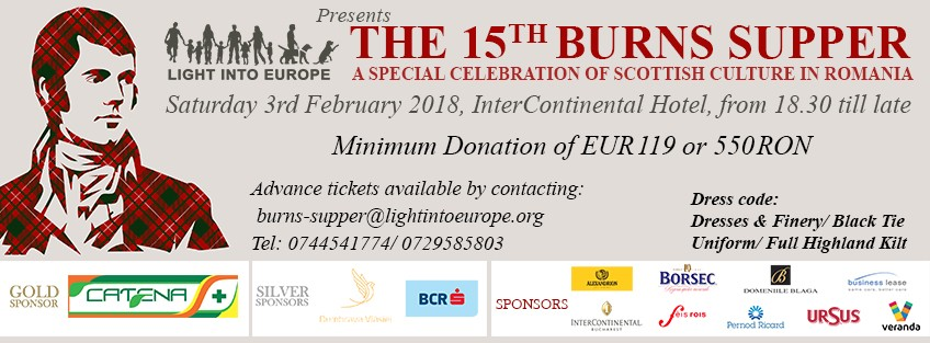 15th annual Burns Supper Charity Ball