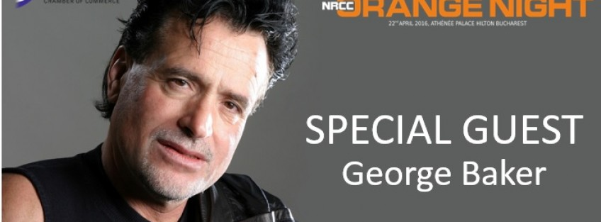 George Baker, Holland's most successful singer and songwriter comes at the NRCC Orange Night 2016