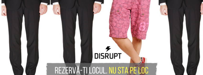 NRCC supports 1st edition of DisruptHR Bucharest, 14th March