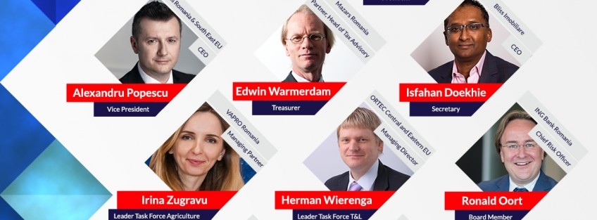 Netherlands Romanian Chamber of Commerce (NRCC) appoints Board of Directors 2016-2017