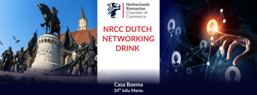NRCC Dutch Networking Drink in Cluj - May 2018