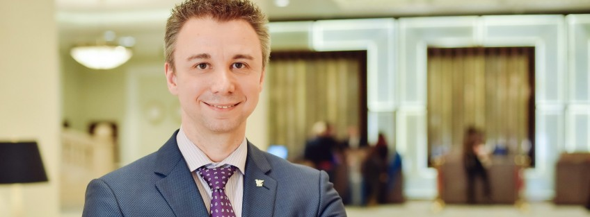 Tino Lindner is the new General Manager of JW Marriott Bucharest Grand Hotel