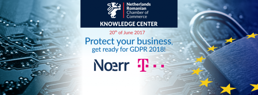 Protect your business, get ready for GDPR 2018 - Cluj edition